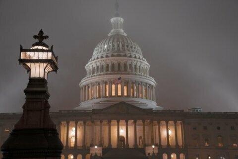 Big spending bill wins Senate OK, has victories all around