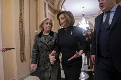 Legacy moment: Pelosi leads 'somber' Trump impeachment