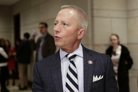 Party-swapping congressman gets Trump praise, Democratic ire