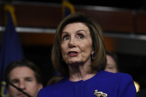 Pelosi offers some trade policy with that impeachment
