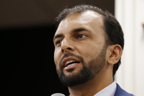 Man convicted of death threat against Muslim candidate