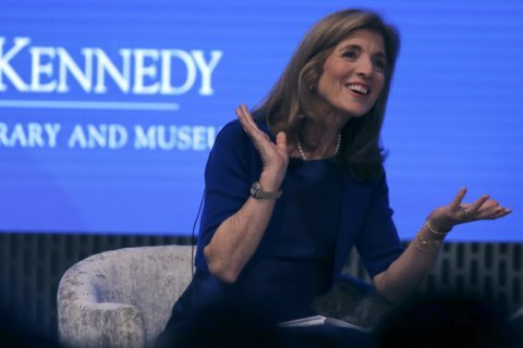 Caroline Kennedy to christen carrier named after her father