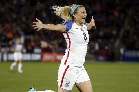 Julie Ertz nets 2nd US Soccer women's player of the year