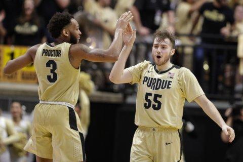 Purdue shuts down No. 5 Virginia in 69-40 blowout of champs