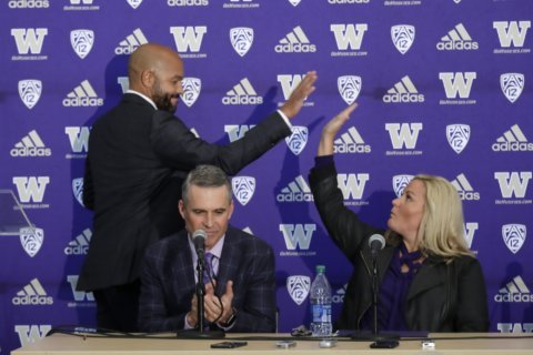 Jimmy Lake relishes 1st chance as head coach at Washington