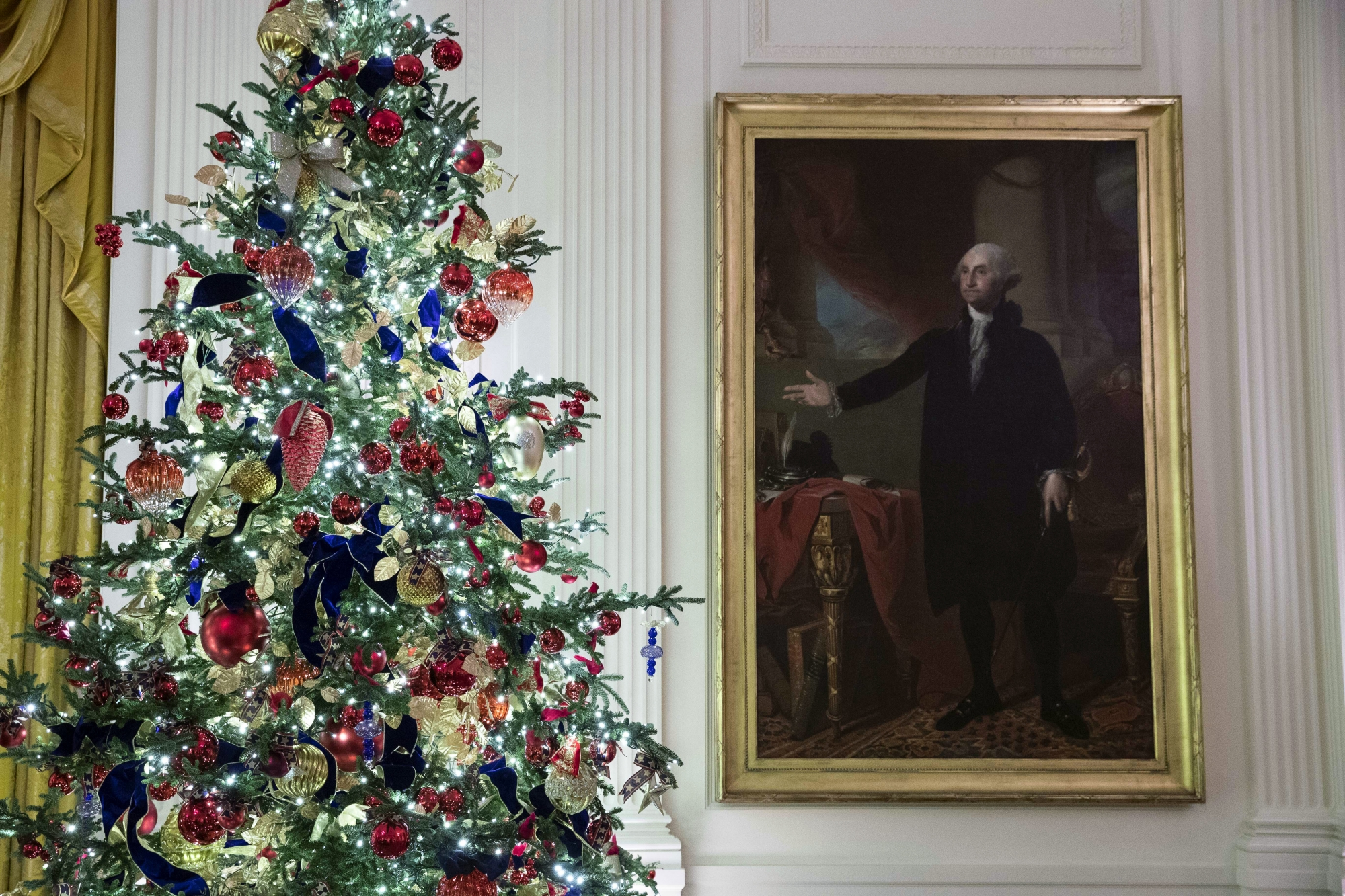 White House Christmas 2021 Ornament 2021 White House Christmas Ornament Unveiled Wtop
