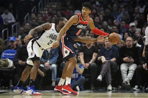 Clippers blow out undermanned Wizards 150-125