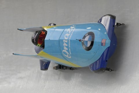 Kaillie Humphries wins another bobsled race for US