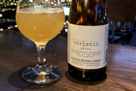 WTOP's Beer of the Week: Allagash Coolship Pêche Ale