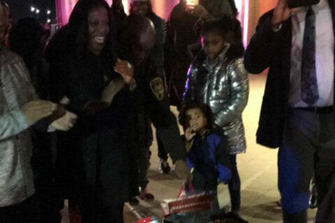 Police provide Christmas to homeless family in Prince George's Co.