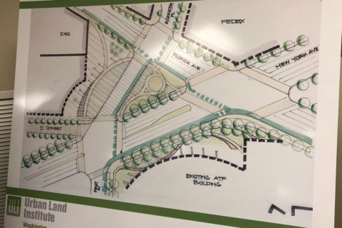 District reveals latest plan to improve notorious 'Dave Thomas Circle'
