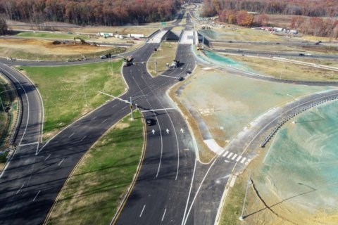 New I-95 'diverging diamond' interchange makes its debut Saturday