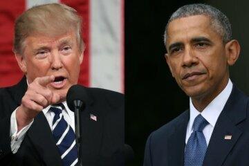 Trump and Obama tied for the most admired men in the US this year. Michelle is the most admired woman, Gallup reports