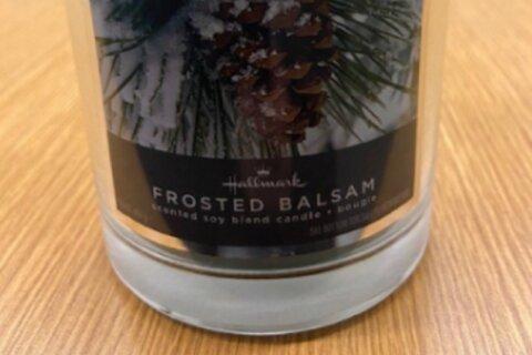 Hallmark recalls candles ahead of the holidays