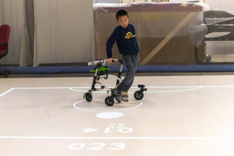 iGym levels playing field for disabled, able-bodied children