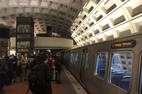 Red Line woes: Riders face service delays, escalator outage
