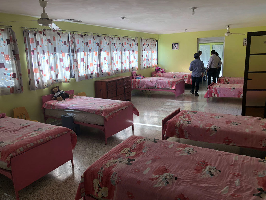 """<p><a href=""""https://www.gofundme.com/f/pink-house-orphanage-dominican-republic?utm_source=facebook&amp;utm_medium=social&amp;utm_campaign=p_lico+update"""" target=""""_blank"""" rel=""""noopener"""">Piedra&#8217;s GoFundMe page</a> has a goal of $20,000 for this year; it is currently just over $15,000.</p>"""