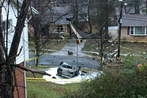 1 dead as small plane crashes in Prince George's Co. neighborhood