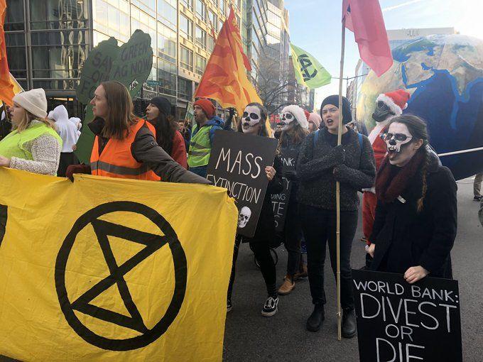 Brisbanes CBD swarmed by climate protestors   Sky News