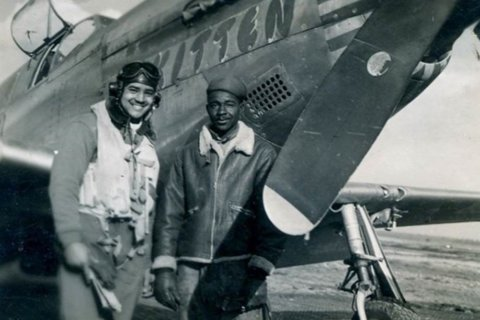 100-year-old Tuskegee airman from Bethesda returns to the sky for his birthday