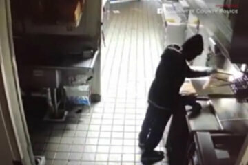 WATCH: Burglar cooks food and takes nap in Georgia Taco Bell