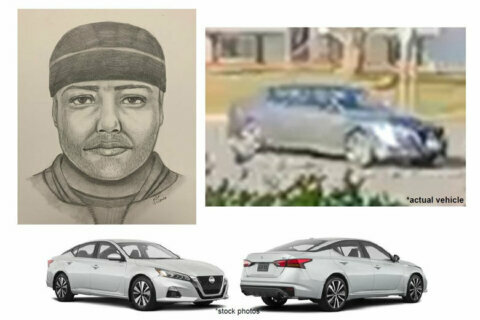 Sketch released of driver who hit Loudoun County deputy then took off