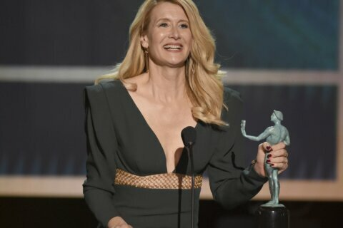 Complete list of winners at Screen Actors Guild Awards