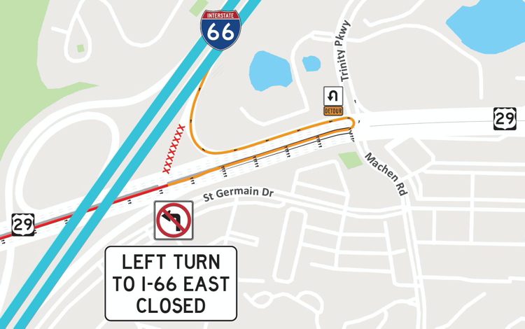I-66 closure