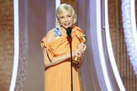 Williams speaks for women's rights from Golden Globes stage