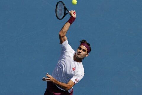 Australian Open glance: Federer faces Djokovic for 50th time