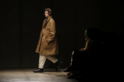 Fluidity and autumnal hues hit Paris menswear week