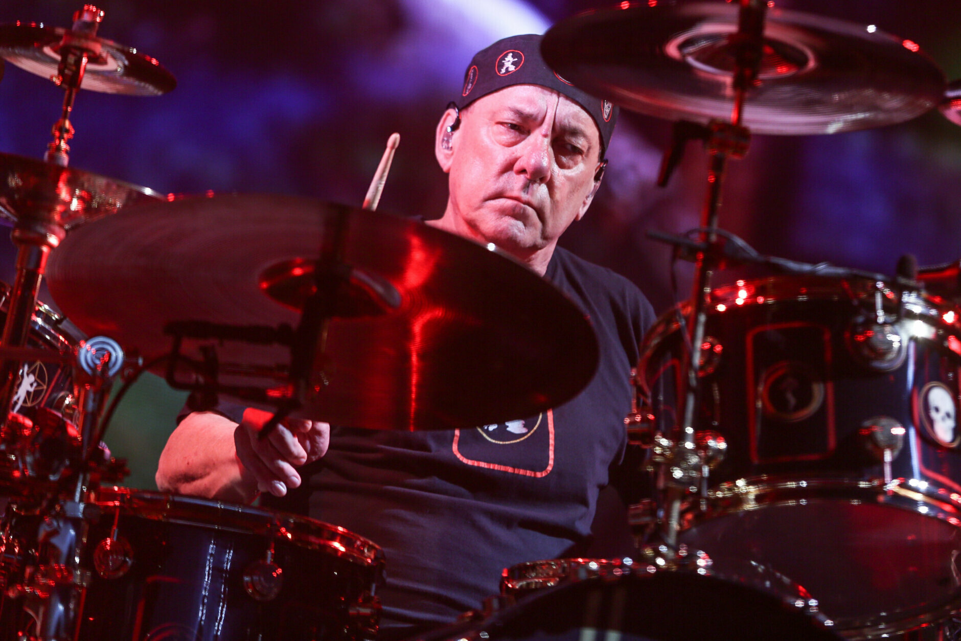 <p>Neil Peart, the renowned drummer and lyricist from the band Rush, has died. His rep Elliot Mintz said in a statement Friday that he died at his home Tuesday, Jan. 7, 2020 in Santa Monica, Calif. He was 67. (Photo by Rich Fury/Invision/AP, File)</p>