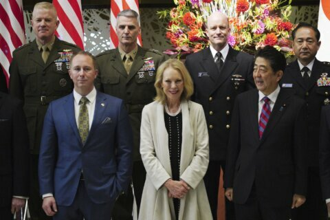 Japan's leader vows to boost nation's role in US alliance