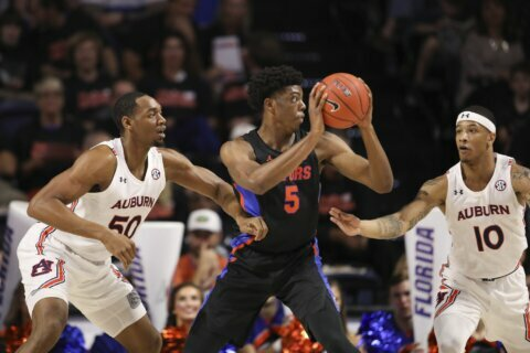 Florida hosts No. 1 Baylor in marquee Big 12/SEC matchup