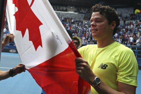 Australian Open Glance:  A Djokovic-Raonic QF  showdown