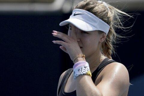 Bouchard's bid for Australian Open spot ends in qualifying
