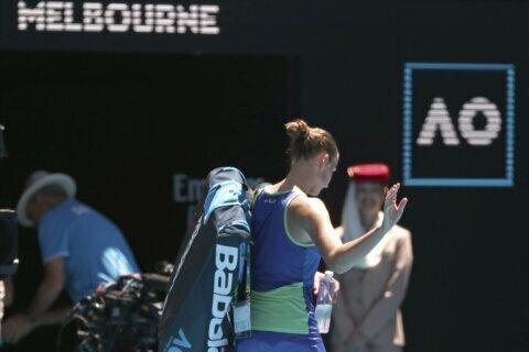 Still eyeing Slam, Pliskova exits Australia; 1 US man left
