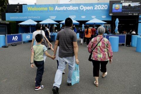 AUSTRALIAN OPEN '20: AP quiz on the year's 1st tennis major