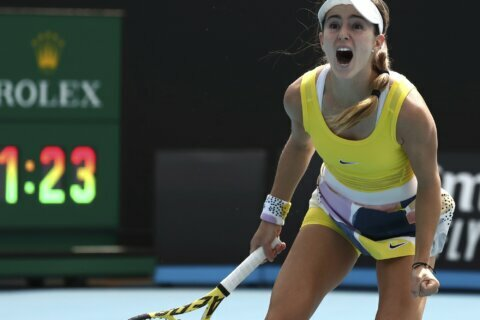 2 years, 4 operations later, CiCi Bellis back on Slam stage