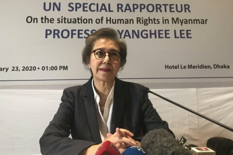 Top UN official says Myanmar must follow order on Rohingya