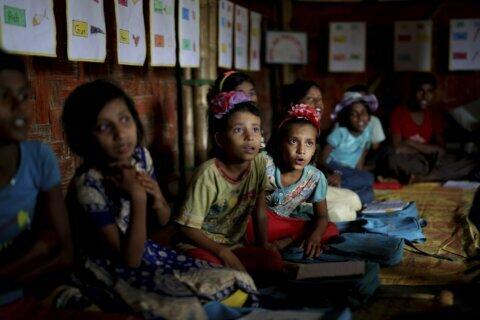 Bangladesh to improve schools for Rohingya refugee children