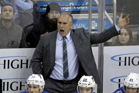 Cassidy, Berube, Reirden, Gallant named NHL All-Star coaches