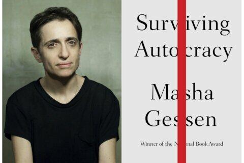 """Masha Gessen book, """"Surviving Autocracy,' coming in June."""