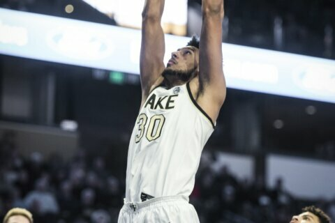 Childress, Wake Forest beat Boston College 80-62