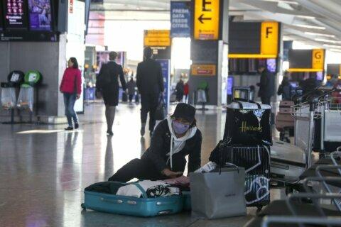 Europe steps up China virus fight, aims to repatriate 600