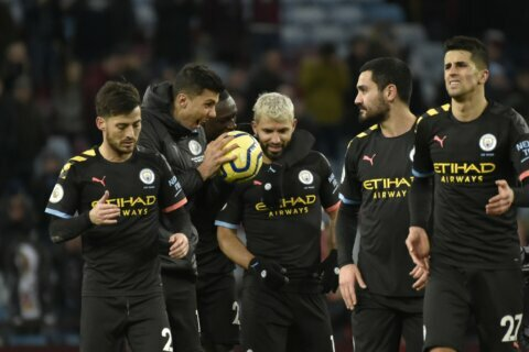 UEFA bans Man City from Champions League for 2 seasons