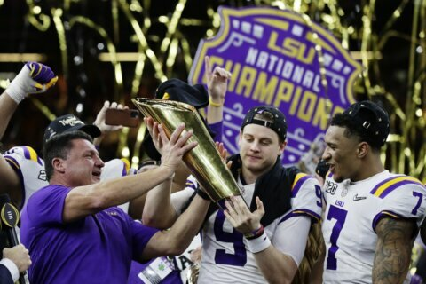LSU football team getting White House visit in quickly