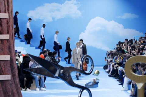Boyhood and theatrics mark Paris Fashion Week men's shows