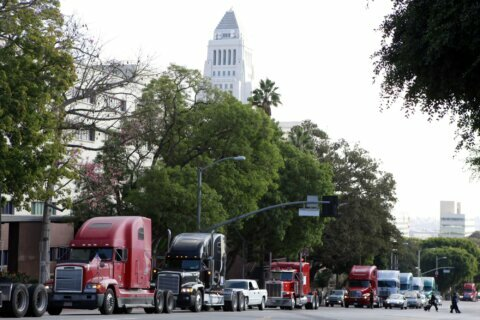 Judge halts California labor law as it relates to truckers