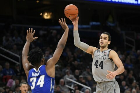Hoyas beat No. 25 Creighton behind Yurtseven's double-double